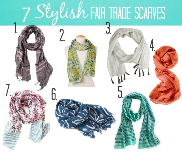 7 stylish scarves